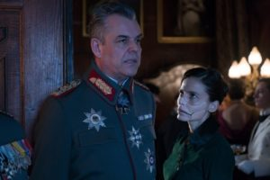 Wonder Woman Danny Huston Elena Anaya villains 2017