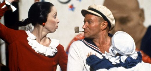Popeye 1980 movie Robin Williams Shelley Duvall Olive Oyl