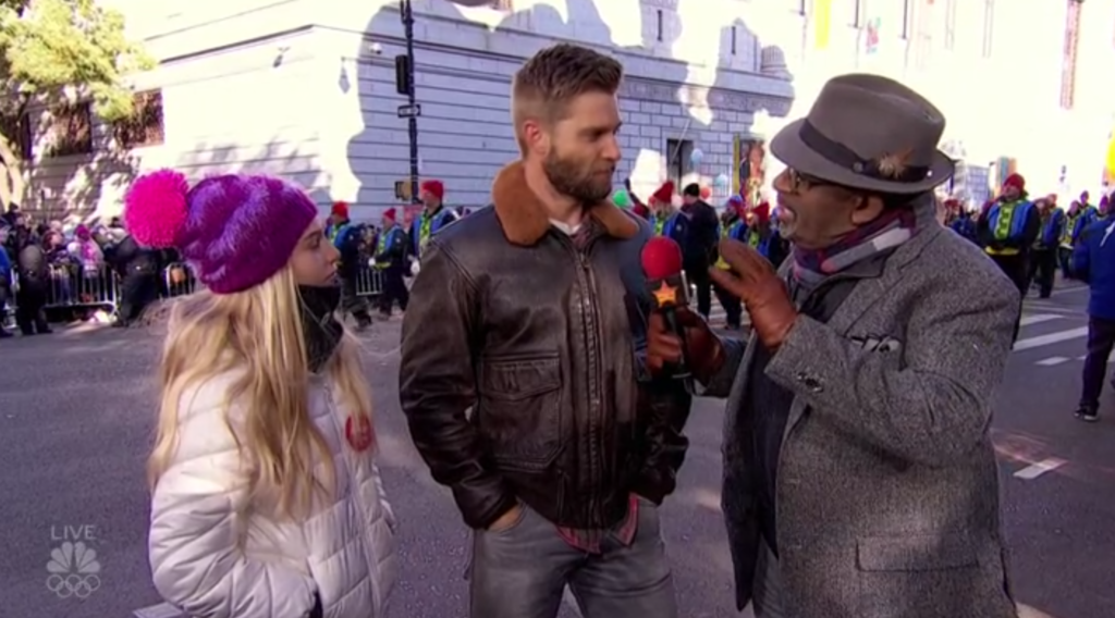 Al Roker Mike Vogel interview Thanksgiving Parade NBC