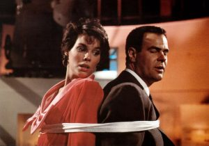 Alexandra Paul Dan Aykroyd Dragnet 1987 Virgin Connie Swail Joe Friday