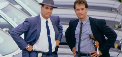 Dragnet Dan Aykroyd Tom Hanks 1987 cop comedy movie