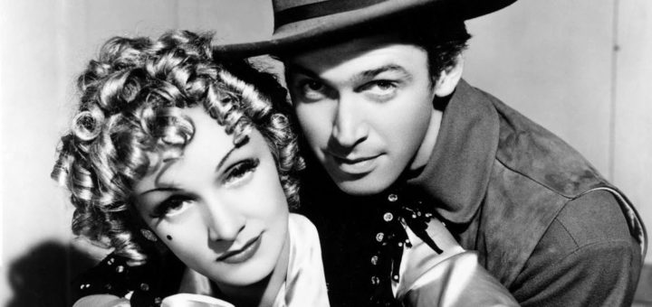 Jimmy Stewart Marlene Dietrich Destry Rides Again 1939 western comedy