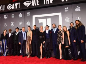 Justice League movie cast premiere