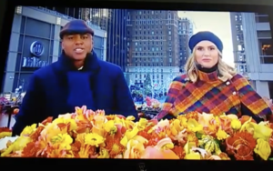 Kevin Frazier Keltie KnightThanksgiving Day Parade