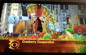 Patti LaBelle float Thanksgiving Day Parade