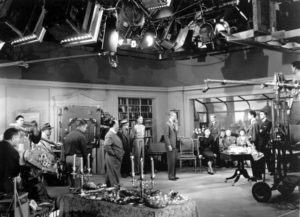 Rope 1948 movie set Alfred Hitchcock behind scenes