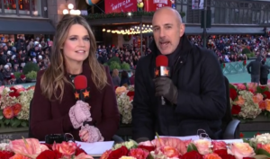 Savanna Guthrie Matt Lauer NBC Macys Thanksgiving Day Parade 2017