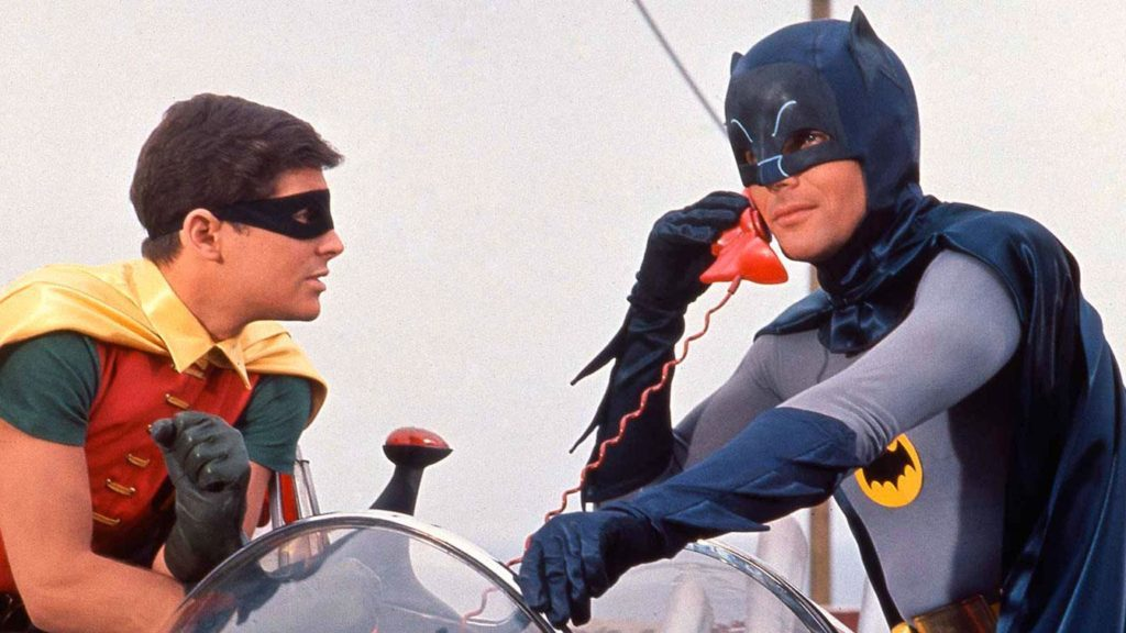 Adam West Batman Burt Ward Robin movie 1966