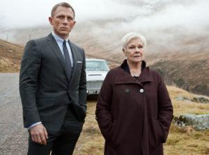 Daniel Craig Judi Dench Skyfall 2012
