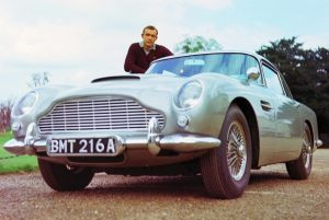 Sean Connery James Bond Aston Martin