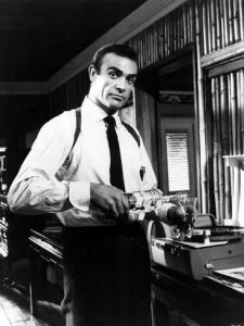 Sean Connery as James Bond in Dr No 1962