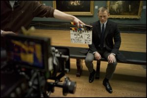 Skyfall behind the scenes filming Daniel Craig as James Bond