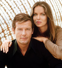 Spy Who Loved Me Roger Moore Barbara Bach