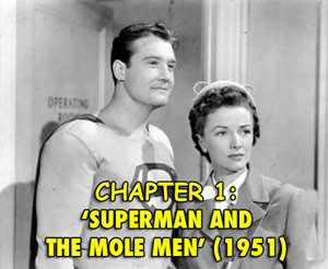 Superman Mole Men George Reeves Phyllis Coates