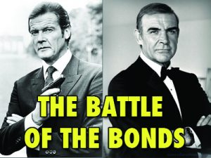 The Battle Of Bonds Roger Moore Sean Connery