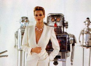 Brigitte Nielsen Cobra 1986 modeling scene