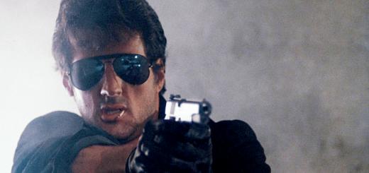 Cobra Sylvester Stallone 1986 action movie