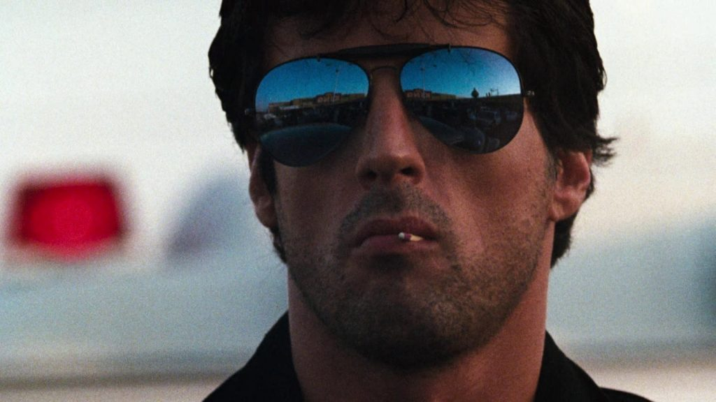 Sylvester Stallone Cobra 1986 action movie