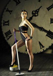 Anna Sidorova Russian curling Olympics hot sexy skip
