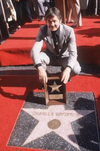 Charles Bronson star Hollywood walk fame 1980