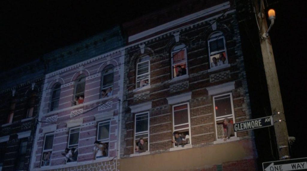 Death Wish 3 NY set building location