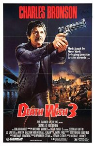 Death Wish 3 movie poster 1985 Charles Bronson