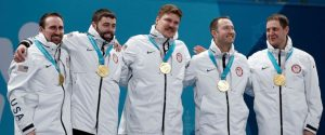 USA Team Curling Gold Medal Winners Olympics