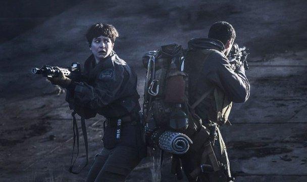 Alien Covenant alien attack sequel Ridley Scott 2017