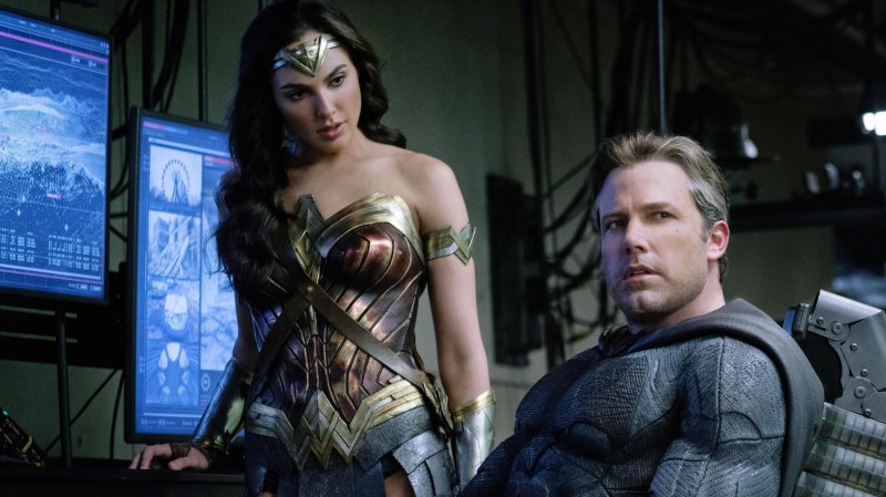 Gal Gadot Ben Affleck Wonder Woman Batman Justice League 2017