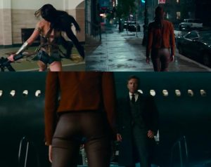 Gal Gadot Wonder Woman butt shots Justice League