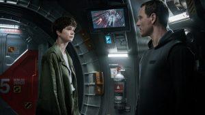 Katherine Waterston Michael Fassbender Alien Convenant 2017