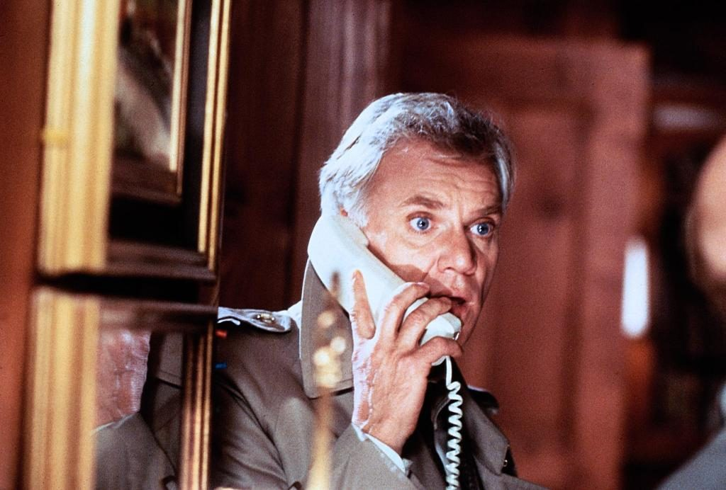 Malcolm McDowell The Caller 1987 movie