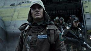 Michael Fassbender Alien Covenant 2017