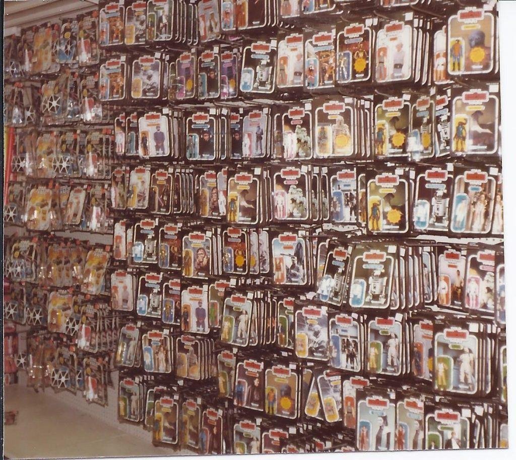 Star Wars toys r us shopping retro 1980s