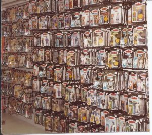 Star Wars toys r us shopping retro 1980s