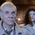 The Caller 1987 thriller Malocolm McDowell Madolyn Smith movie