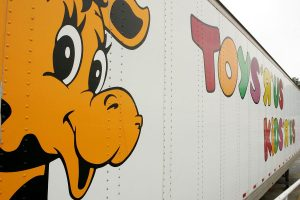 Toys R Us shipping truck