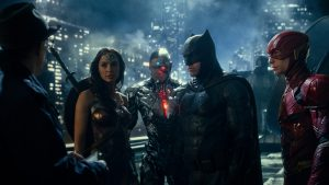 Justice League DC WB superhero movie