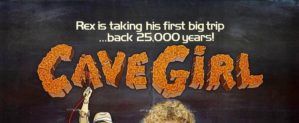 Cavegirl 1985 movie poster
