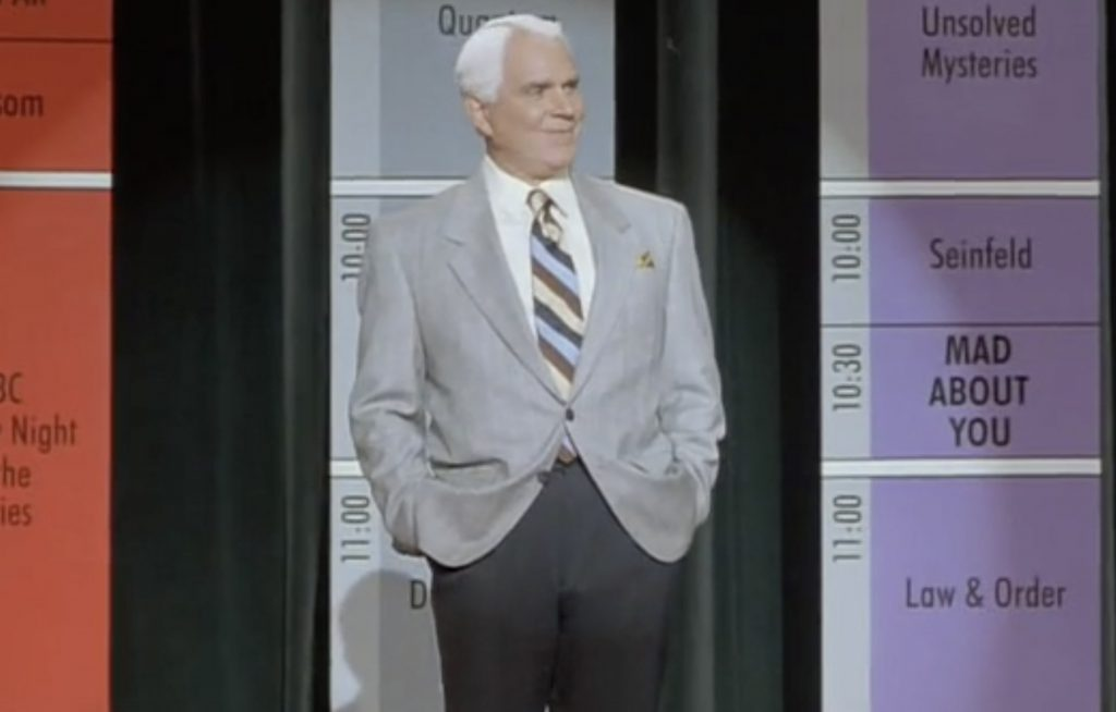 The Late Shift Movie 1996 Rich Little as Johnny Carson