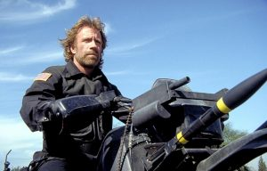 The Delta Force 1986 Chuck Norris motorcycle