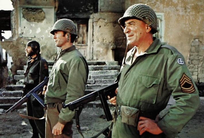 Kellys Heroes 1970 war movie Clint Eastwood Telly Savalas Donald Sutherland