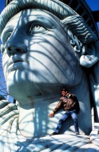 Remo Williams Adventure Begins 1985 Statue Liberty action scene stunts