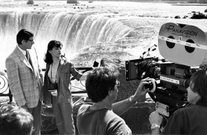 Superman 2 filming behind scenes 1980