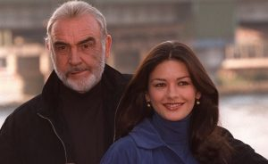 Sean Connery Catherine Zeta Jones Entrapment 1999 heist thriller