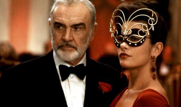 Sean Connery Catherine Zeta Jones Entrapment 1999