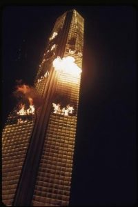 The Towering Inferno 1974 disaster movie Irwin Allen