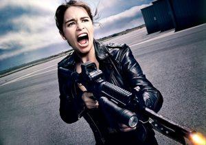 Emilia Clarke Terminator Genisys 2015