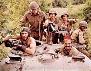Kellys Heroes 1970 Eastwood Sutherland WW2 tank