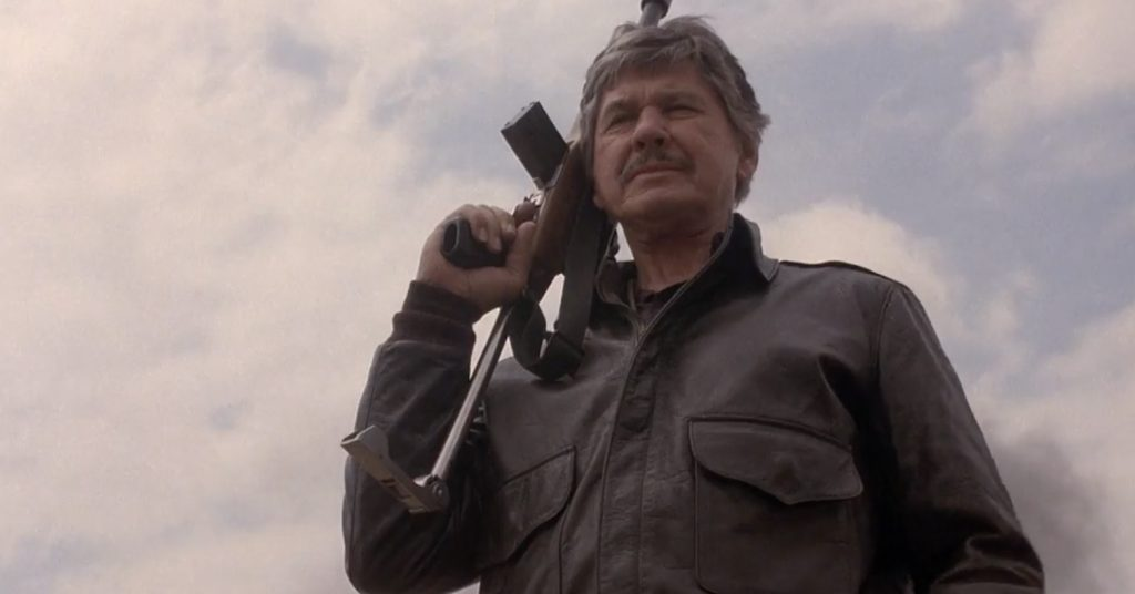 Charles Bronson Death Wish 4 The Crackdown 1987